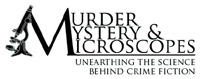 Murder, Mystery and Microscopes logo