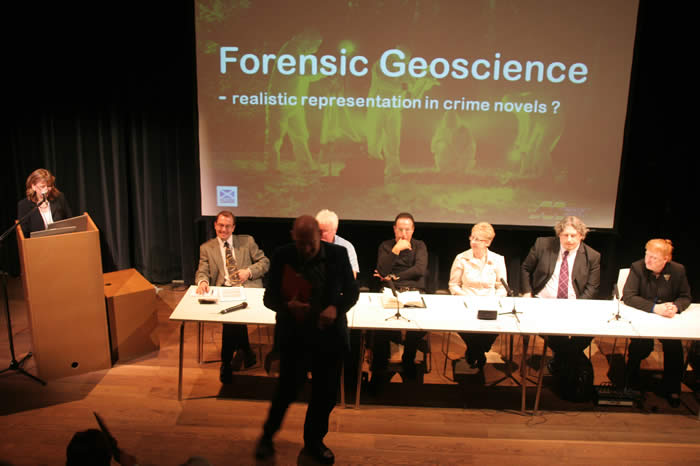 Quentin Cooper introduces panel of authors and experts