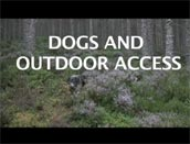 Screen shot of Dogs and Outdoor Access video